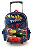 Gift Cars Large Rolling Backpack and Lunch Bag Set