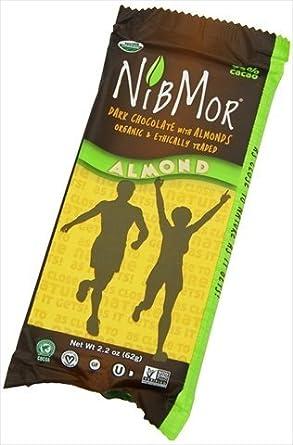 Nibmor 65 Percent Almond Dark Chocolate Candy, 2.2 Ounce -- 12 per case.