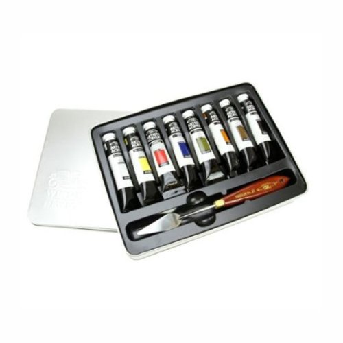 W&N Artist Acrylic Professional Tin Set