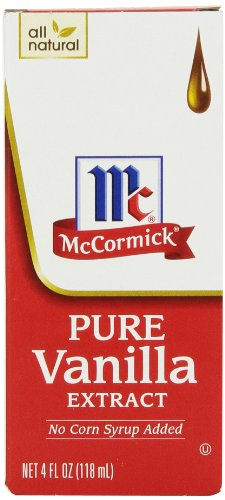 McCormick Pure Vanilla Extract, 4-Ounce Bottle