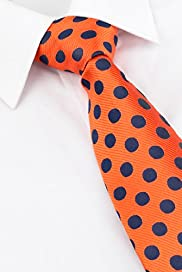 Sartorial Pure Silk Textured Spot Tie