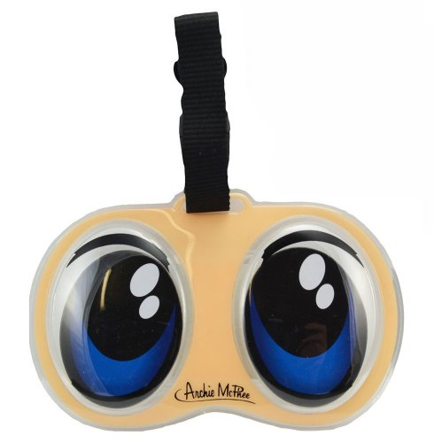 Accoutrements Anime Eyes Luggage Tag - 1