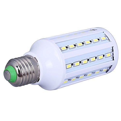 All Five Stars White Energy Saving 220V E27 12W 60 Led Light Lamp Bulb Corn Light (Cool White)