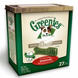 Greenies Senior Dog Treats Regular 27Oz 27Ct