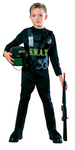 Young Heroes Child'S S.W.A.T. Team Costume, Small