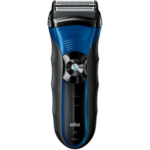 Braun Series 3 340s-4 Rechargeable Wet & Dry Foil Electric Shaver (Braun Series 340s4 compare prices)
