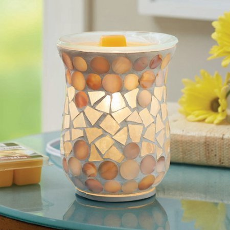 Better Homes and Gardens Full Size Wax Warmer, Mosaic (Cow Wax Warmer compare prices)