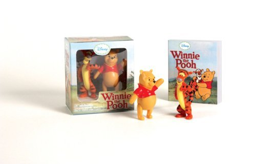 Disney Kids Collectable Toy Figure and Book Kit - Set of Three - Winnie the Pooh, Toy Story, Monsters, Inc., and Tom & Jerry - 1