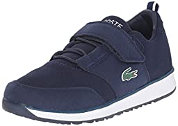 Lacoste L.Ight 116 1 Sneaker (Toddler/Little Kid/Big Kid), Navy, 5 M US Toddler