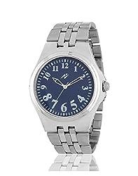 Yepme Men's Chain Watch - Blue/Silver -- YPMWATCH3189