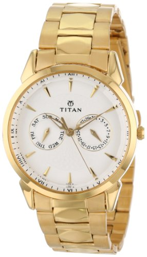 Titan Men'S 1521Ym04 Regalia Day And Date Function Watch