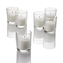 Set of 144 Richland® Votive Candles and 144 Eastland® Votive Holders