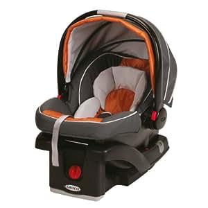 Graco SnugRide Click Connect Car Seat, Tangerine