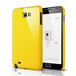 elago G4 Slim Fit Case for Galaxy Note - Sport Yellow + HD Professional film(Compatible with at&t Only)