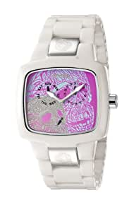 Invicta Men's Yellow Adrenaline Corian Artist Collection Analogue Watch 5902 with White Skull