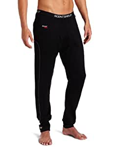 SCENT SHIELD Men's S3 Expedition Wt. Wool Pant, Black, Small
