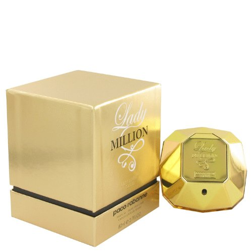 451045f224f4 How to buy online Lady Million Absolutely Gold By Paco Rabanne Eau De  Parfum Spray 2 7 Oz For Women