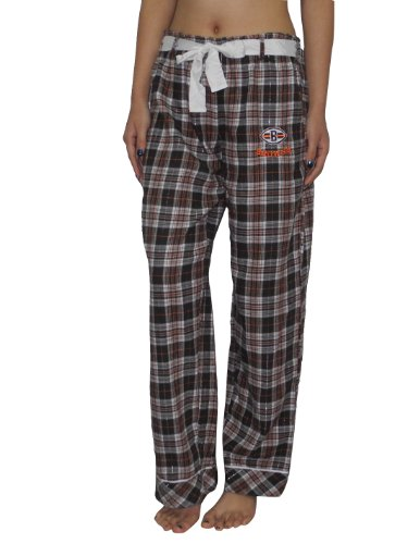 NFL Cleveland Browns Womens Fall / Winter Plaid Pajama Pants Small Multicolor at Amazon.com
