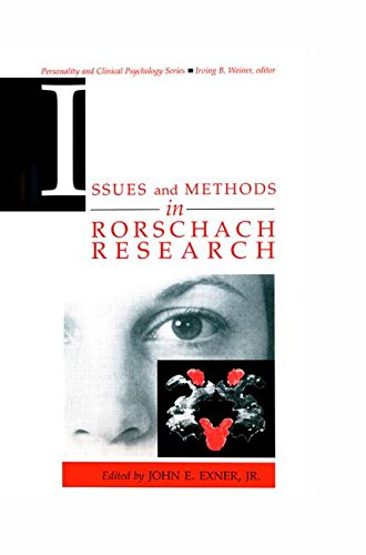 Issues and Methods in Rorschach Research (Lea Series in Personality and Clinical Psychology)