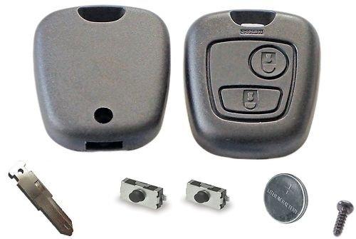 diy-repair-kit-for-peugeot-106-206-306-2-button-remote-key-refurbishment