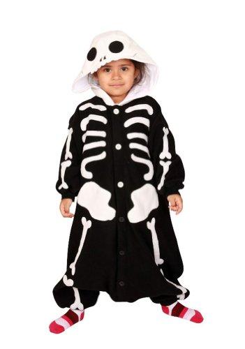 Skeleton Kids Kigurumi (2-5 Years) front-385335