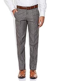 GHPC Men's Plain Regular Fit Formal Trouser (FT1140-$P)