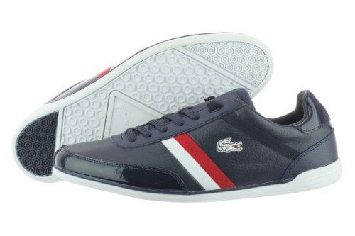 Men'S Lacoste, Giron Casual Sport Shoe Navy White 13 M