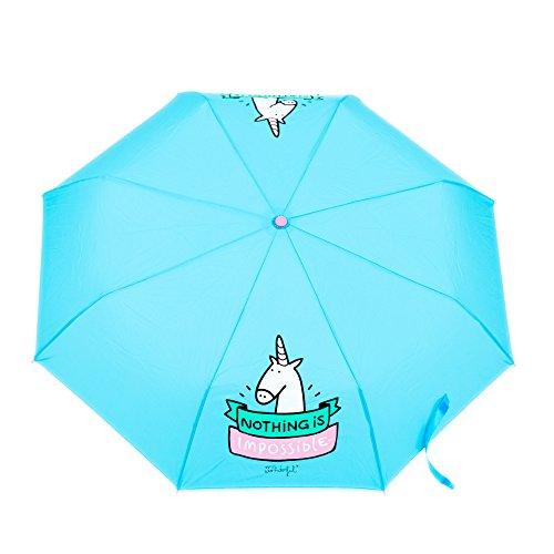 Mr-Wonderful-Parapluie-pliants-Mixte-Turquoise-24-cm