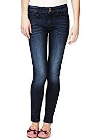 Angel Cotton Rich Skinny Fit Washed Denim Jeans