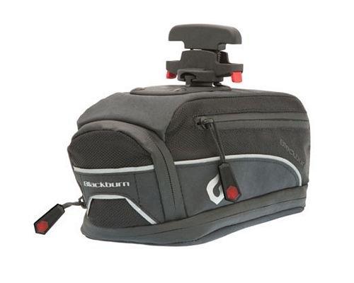 Blackburn 3510603 Zayante QR - Bolsa para sillín (tamaño grande), color negro