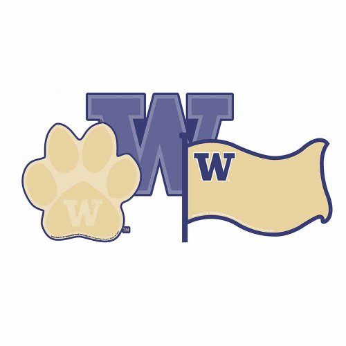 Eureka NFL University of Washington Huskies Assorted Paper Cut-Outs - 1