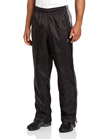 PUMA Men's T7 Wind Pant, Black/Quiet Shade, Small