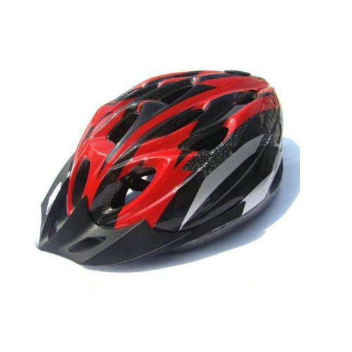 Generic 18 Holes Cycling Bicycle Adult Bike Helmet Head Protector With Visor