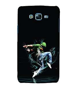 printtech Dance Faceoff Energy Back Case Cover for Samsung Galaxy E7 / Samsung Galaxy E7 E700F
