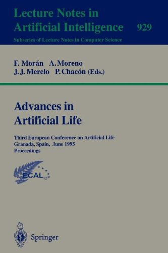 Advances in Artificial Life: Third European Conference on Artificial Life, Granada, Spain, June 4 - 6, 1995 Proceedings