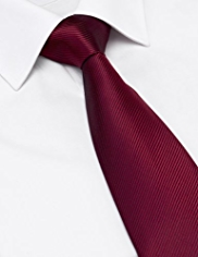 Longer Length Machine Washable Twill Tie