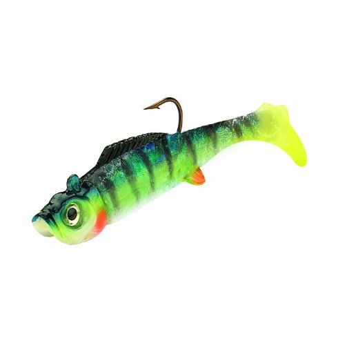 Northland Mimic Minnow Shad-Strip of 6 (1/16-Ounce, Blue)