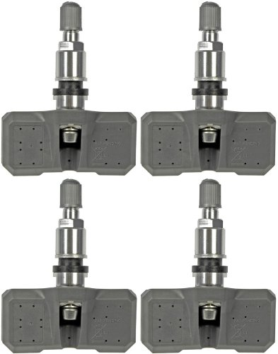 Four Sensor Tire Pressure Monitor Fits 05-14 Chrysler Dodge 05-16 Jeep (2012 Dodge Ram 1500 Tpms compare prices)