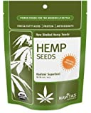 Navitas Naturals Hemp Seeds Shelled, 8-Ounce