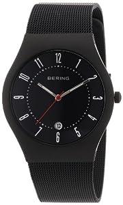 Bering Time Herren-Armbanduhr Classic Analog Edelstahl beschichtet 11937-223