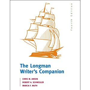VangoNotes for The Longman Writer's Companion, 4/e | [Chris M. Anson, Robert A. Schwegler, Marcia F. Muth]