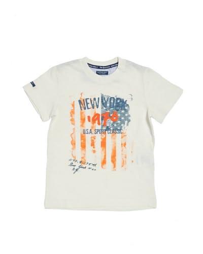 Cotton Belt T-Shirt Manica Corta [Bianco]