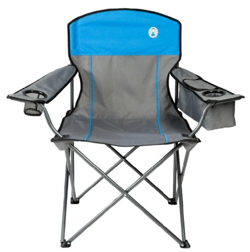 Outstanding Coleman Camping Outdoor Oversized Quad Chair W Cooler Cup Ocoug Best Dining Table And Chair Ideas Images Ocougorg
