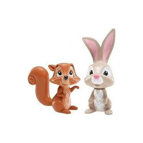 Disney Princess Sleeping Beauty Forest Animals Figures 2-pack