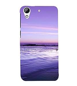 PrintVisa Travel Beach Art Design 3D Hard Polycarbonate Designer Back Case Cover for HTC Desire 626