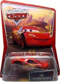 Disney Pixar Cars Tar Lightning McQueen World of Cars 1:55 Scale Mattel - 1