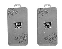 2 Packs of Saihan Premium Tempered Glass for Motorola Moto E 3rd gen + Diwali Offer Free Gift : 5V 1.2W Portable Flexible USB LED Light Lamp
