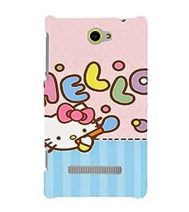 EPICCASE Pussy Cat Doll Mobile Back Case Cover For HTC One Max (Designer Case)