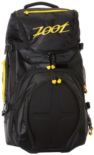 B005BUTSCA Zoot Sports Ultra Tri Carry On Bag (Black-Yellow, One Size)