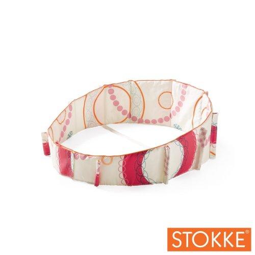 Stokke Sleepi Mini Bumper - Circles Pink front-1052867